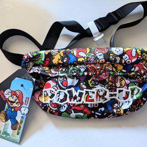 2020 Levi's x Mario collab all over print bum bag